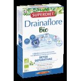 Drainaflore BIO · Superdiet · 20 ampollas