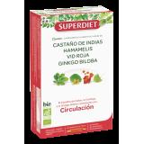 Cuarteto Circulación BIO · Superdiet · 20 ampollas