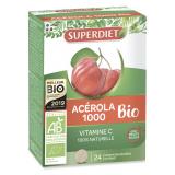 Acerola 1000 - Vitamina C · Superdiet · 24 comprimidos