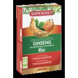 Ginseng Jalea Real BIO · Superdiet · 20 ampollas