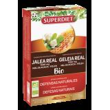 Jalea Real Miel Polen BIO · Superdiet · 20 ampollas