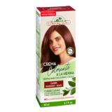 Crema Colorante a la Henna Caoba · Corpore Sano · 80 ml