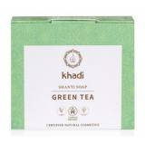 Jabón Shanti Te Verde · Khadi · 100 gramos