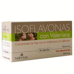 Isoflavonas con Valeriana · Natysal · 36 cápsulas