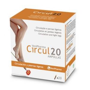 Circul20 · Venpharma · 20 ampollas