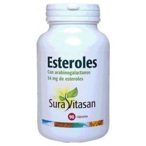 Esteroles con Arabinogalactanos · Sura Vitasan · 90 cápsulas