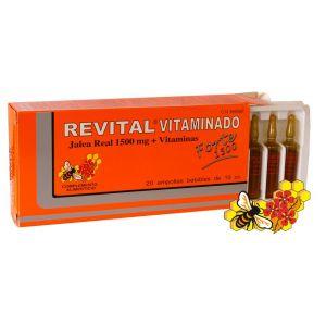 Revital Vitaminado Forte · Pharma OTC · 20 ampollas