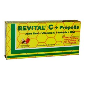 Revital C · Pharma OTC · 20 ampollas