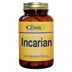 Incarian · Zeus · 180 cápsulas