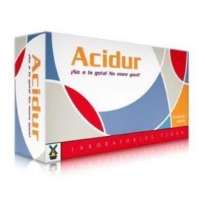 Acidur · Tegor · 60 cápsulas