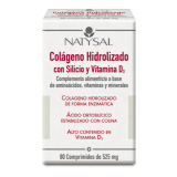 Colágeno con Silicio · Natysal · 80 comprimidos
