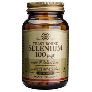Selenio 100 mcg Precise · Solgar · 100 comprimidos