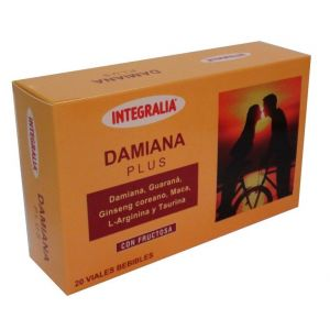 Damiana Plus · Integralia · 20 viales