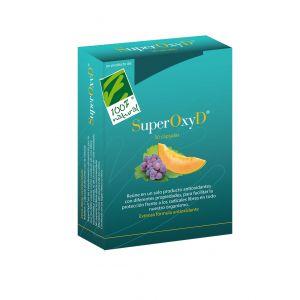 SuperOxyD · 100% Natural · 30 cápsulas