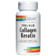 Collagen Keratin · Solaray · 60 cápsulas