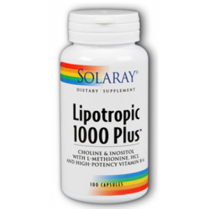 Licotropic 1000 Plus · Solaray · 100 cápsulas