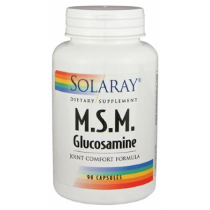 MSM con Glucosamina · Solaray · 90 cápsulas
