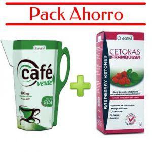 Café Verde Líquido + Cetonas de Frambuesa Líquidas