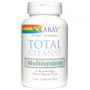 Total Cleanse Multisystem · Solaray · 120 cápsulas
