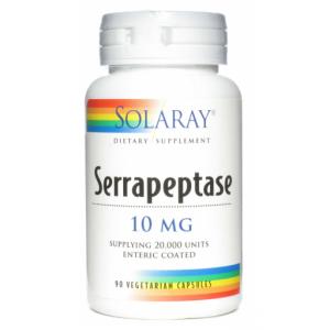 Serrapeptase · Solaray · 90 cápsulas