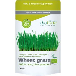 Wheat Grass (Hierba de Trigo) · Biotona · 200 gramos