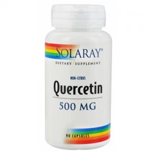 Quercitin Non Citrus · Solaray · 90 cápsulas