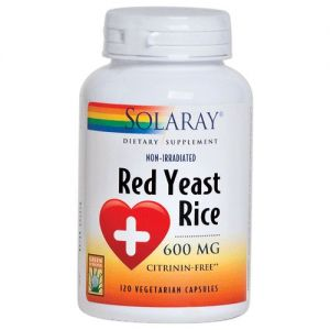 Red Yeast Rice · Solaray · 45 cápsulas