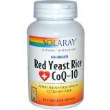 Red Yeast Rice Plus CoQ10 · Solaray · 60 cápsulas