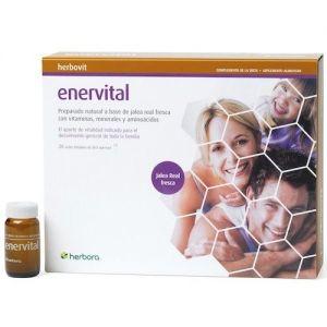 Enervital · Herbora · 20 viales