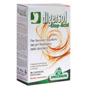 Digersol Stop-Acid · Specchiasol · 20 comprimidos