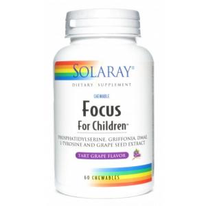 Focus for Children · Solaray · 60 comprimidos