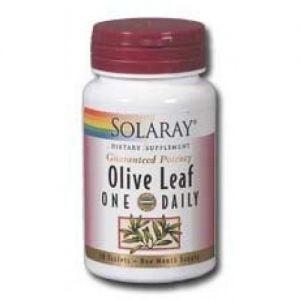 Hoja de Olivo · Solaray · 30 comprimidos