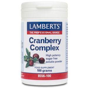 Cranberry Complex · Lamberts · 100 gramos