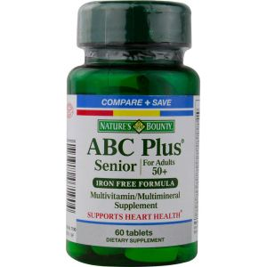 ABC Plus Senior · Nature's Bounty · 60 comprimidos