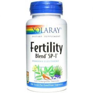 Fertility Blend · Solaray · 100 cápsulas