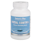 Metal Control · Nature's Plus · 120 comprimidos