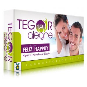 Tegor 18 Alegre · Tegor · 40 cápsulas