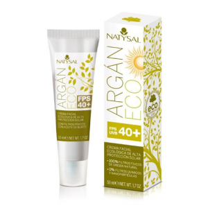 Crema de Argán ECO FPS 40 · Natysal · 50 ml