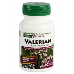 Valeriana · Nature's Plus · 60 cápsulas