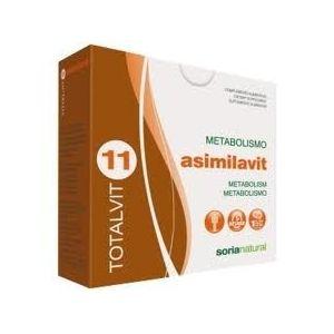 Totalvit 11 - Asimilavit · Soria Natural · 28 comprimidos