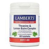 L-Teanina y Bálsamo de Limón Complex · Lamberts · 60 comprimidos