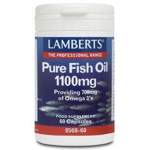 Aceite de Pescado Puro 1.100 mg · Lamberts