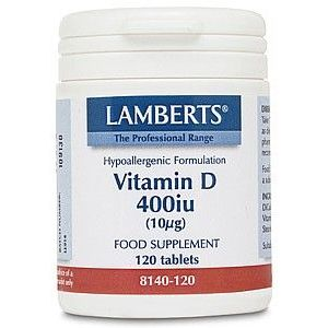 Vitamina D3 Natural · Lamberts