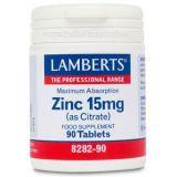 Zinc 15 mg · Lamberts