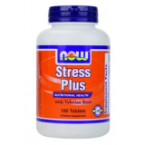 Stress Plus · NOW · 100 comprimidos