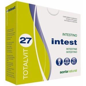 Totalvit 27 - Intest · Soria Natural · 28 comprimidos