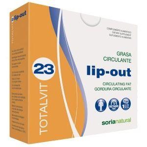 Totalvit 23 - Lip Out · Soria Natural · 28 comprimidos