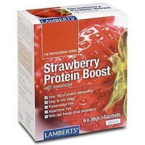 Proteína de Fresa · Lamberts · 180 gramos
