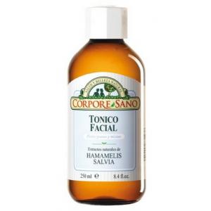 Tónico Facial de Hamamelis y Salvia · Corpore Sano · 250 ml