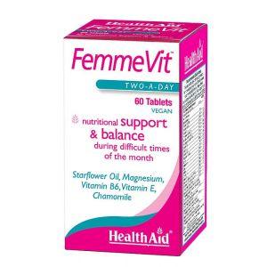 Femmevit PMS · Health Aid · 60 comprimidos
